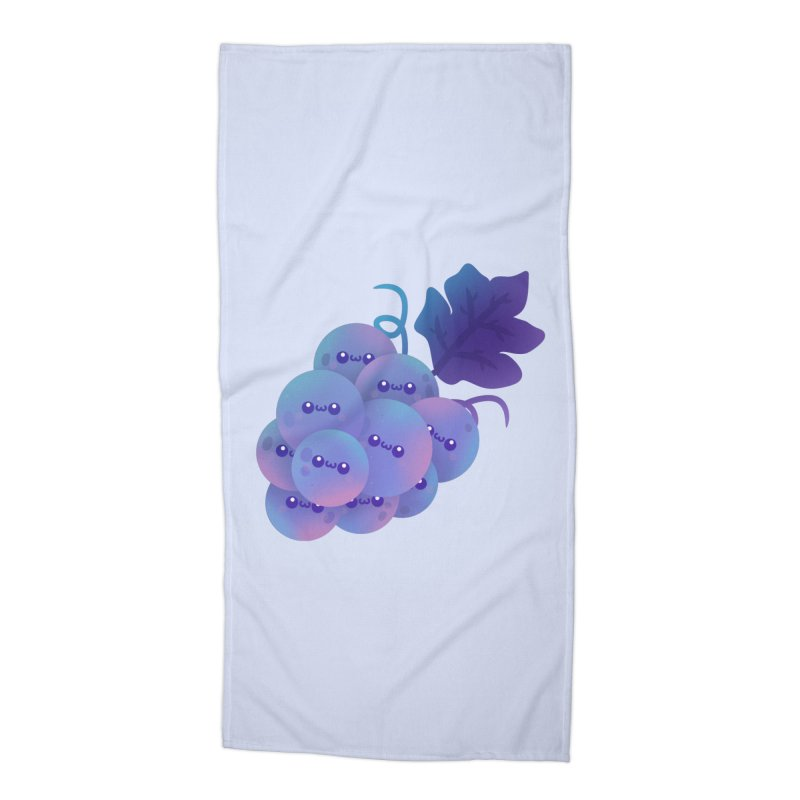 Grapes Accessories Beach Towel by theladyernestember's Artist Shop