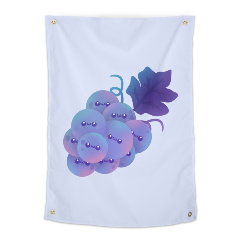 Grapes Home Tapestry by theladyernestember's Artist Shop