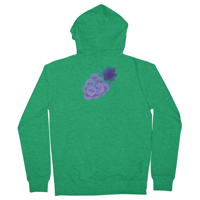 Grapes Men's Zip-Up Hoody by theladyernestember's Artist Shop