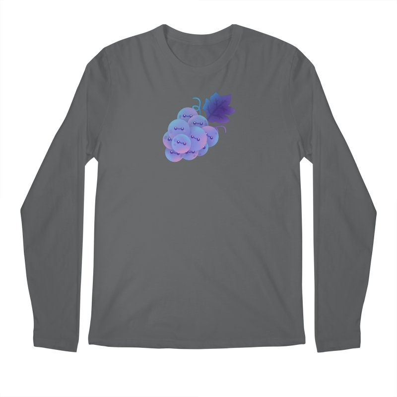 Grapes Men's Longsleeve T-Shirt by theladyernestember's Artist Shop