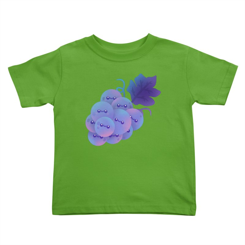 Grapes Kids Toddler T-Shirt by theladyernestember's Artist Shop