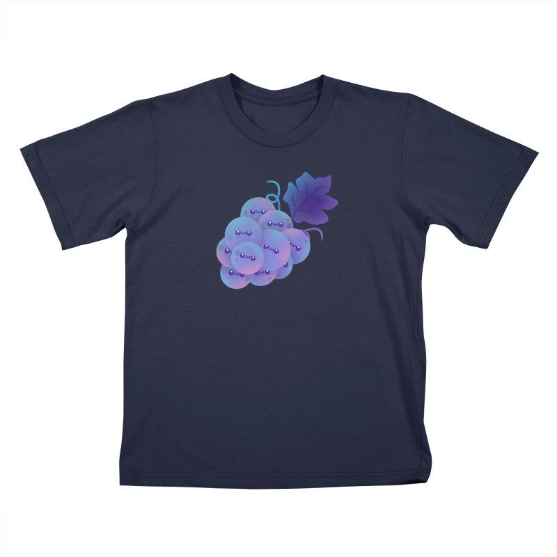 Grapes Kids T-Shirt by theladyernestember's Artist Shop