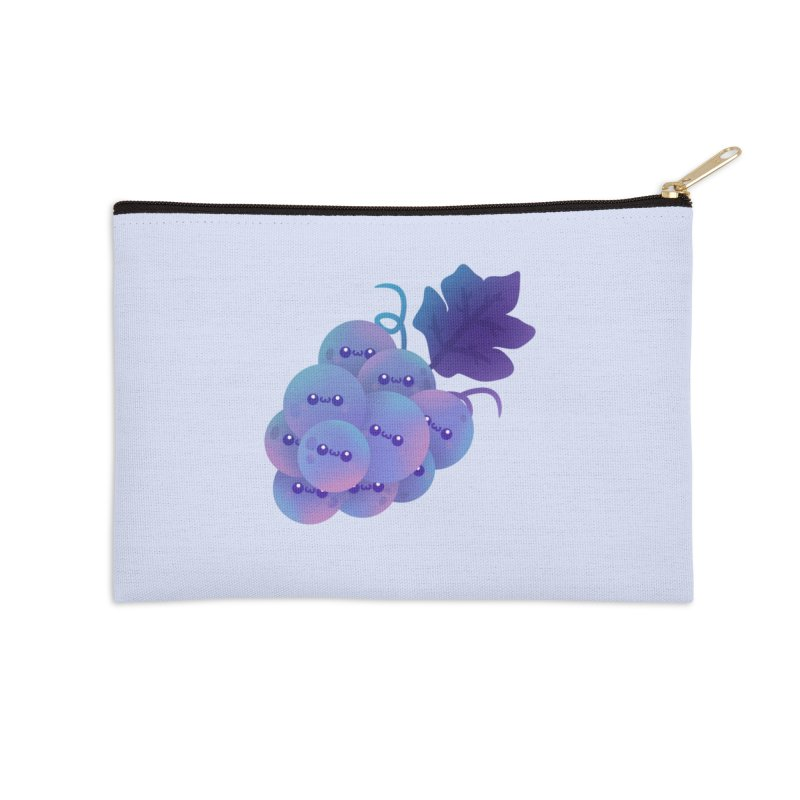 Grapes Accessories Zip Pouch by theladyernestember's Artist Shop