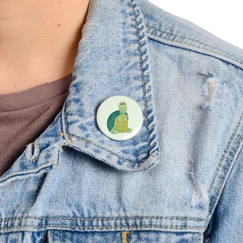 Turtle Accessories Button by theladyernestember's Artist Shop