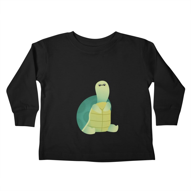 Turtle Kids Toddler Longsleeve T-Shirt by theladyernestember's Artist Shop