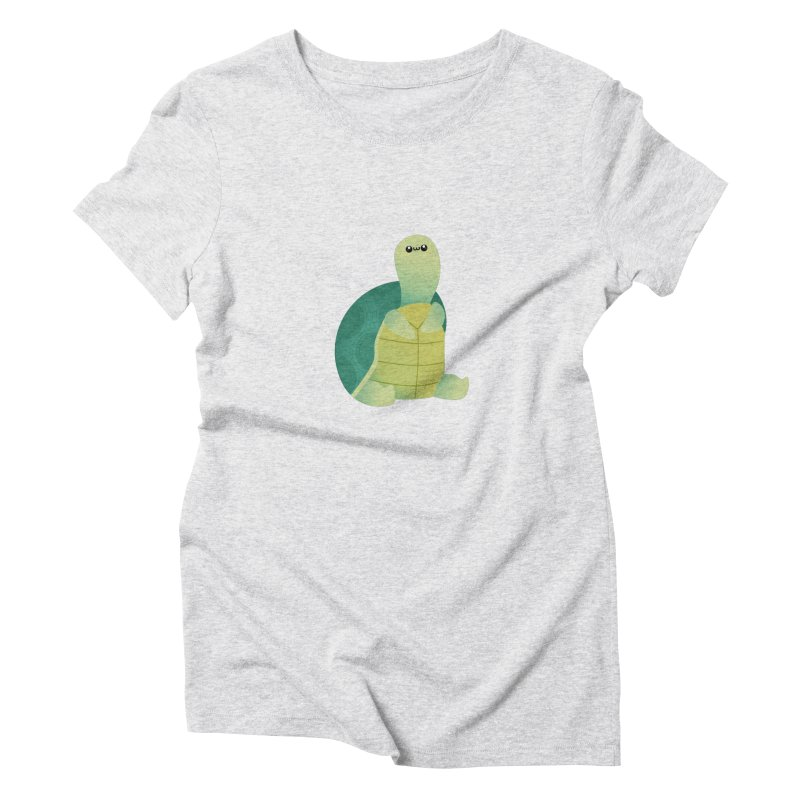 Turtle Women's T-Shirt by theladyernestember's Artist Shop
