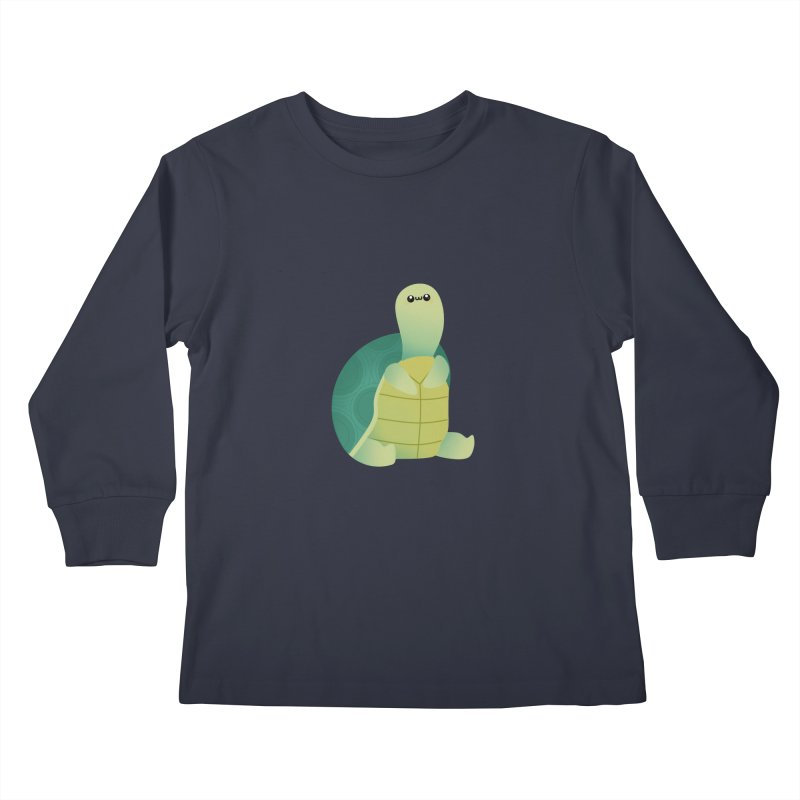 Turtle Kids Longsleeve T-Shirt by theladyernestember's Artist Shop
