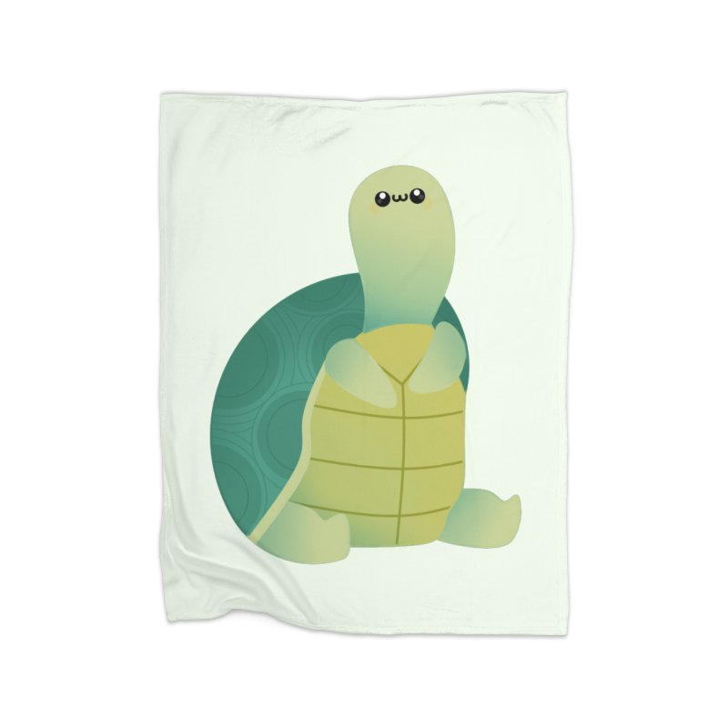 Turtle Home Blanket by theladyernestember's Artist Shop
