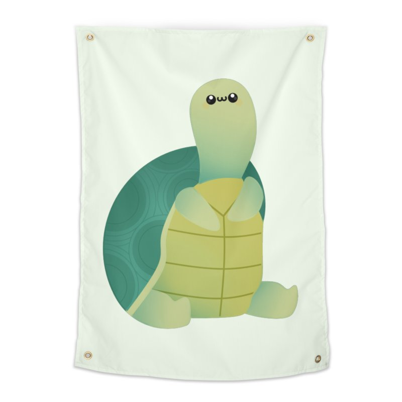 Turtle Home Tapestry by theladyernestember's Artist Shop