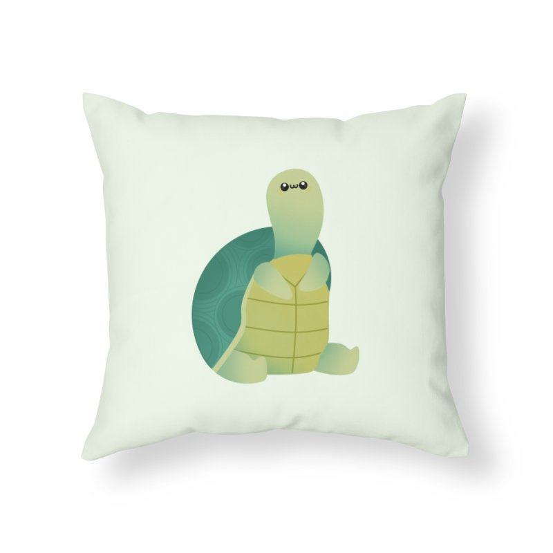 Turtle Home Throw Pillow by theladyernestember's Artist Shop