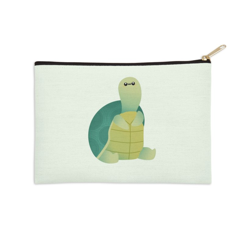 Turtle Accessories Zip Pouch by theladyernestember's Artist Shop