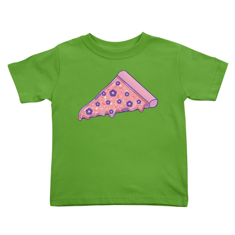 Pizza Kids Toddler T-Shirt by theladyernestember's Artist Shop