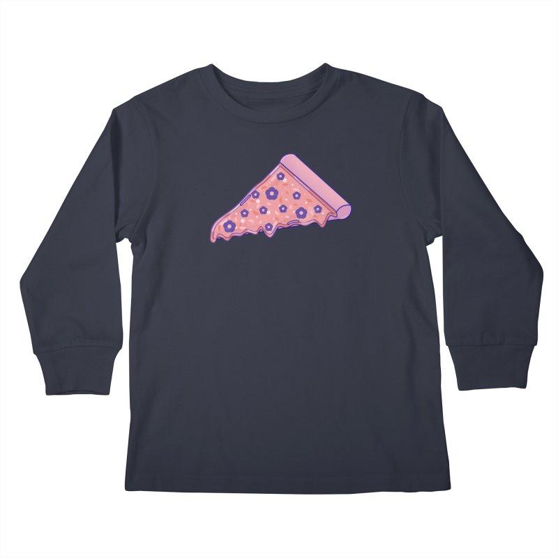 Pizza Kids Longsleeve T-Shirt by theladyernestember's Artist Shop