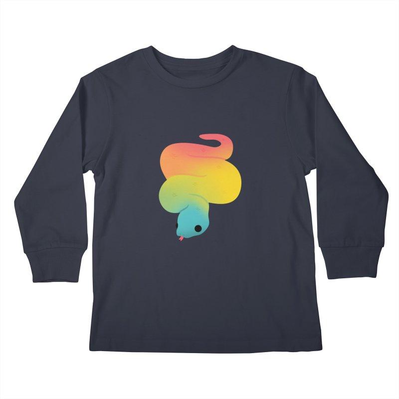 Snake Kids Longsleeve T-Shirt by theladyernestember's Artist Shop