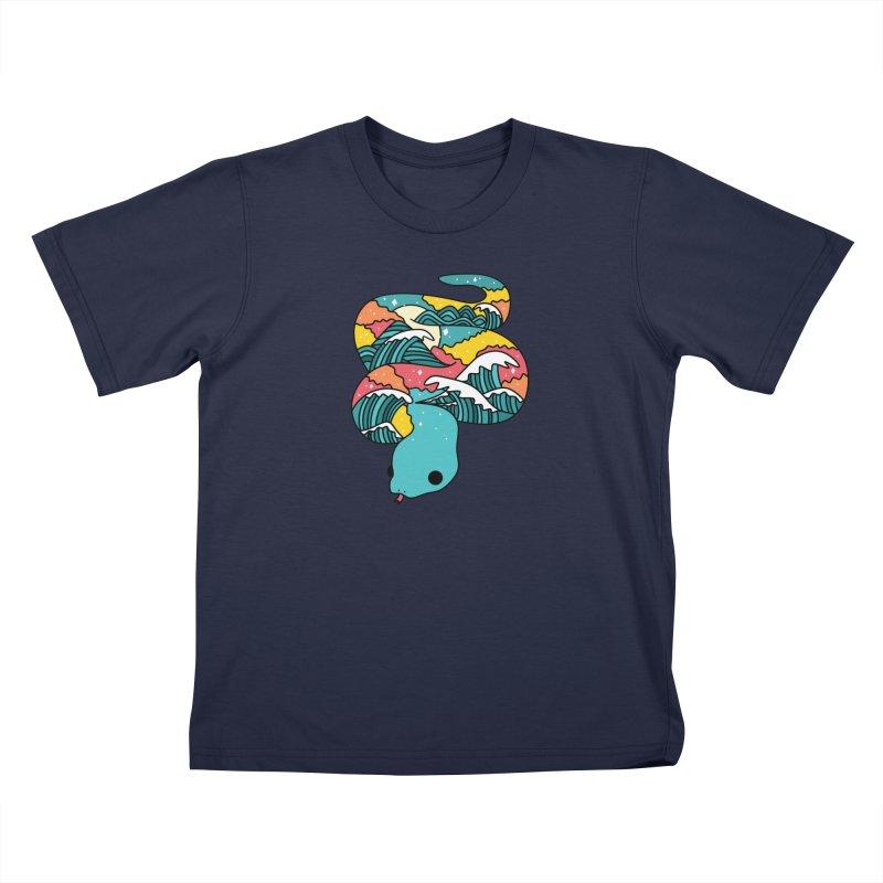 Snake Kids T-Shirt by theladyernestember's Artist Shop