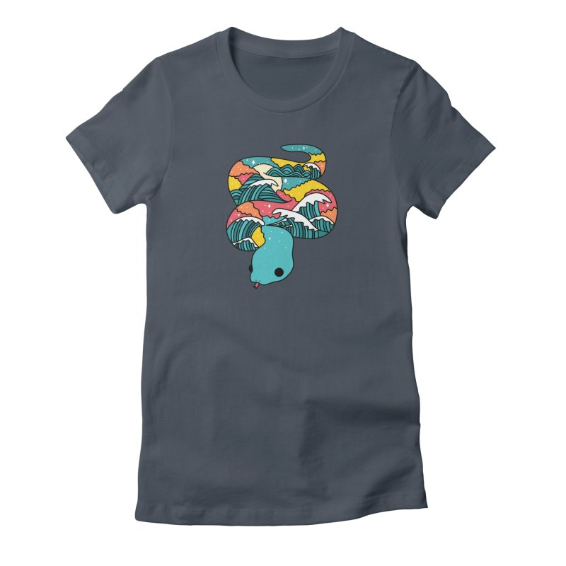 Snake Women's T-Shirt by theladyernestember's Artist Shop