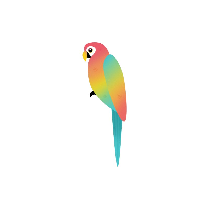 Parrot Accessories Sticker by theladyernestember's Artist Shop