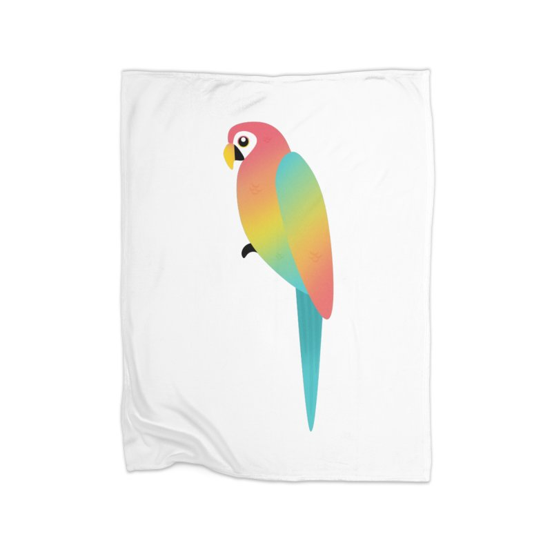 Parrot Home Blanket by theladyernestember's Artist Shop
