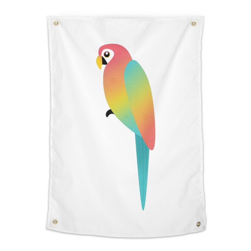 Parrot Home Tapestry by theladyernestember's Artist Shop