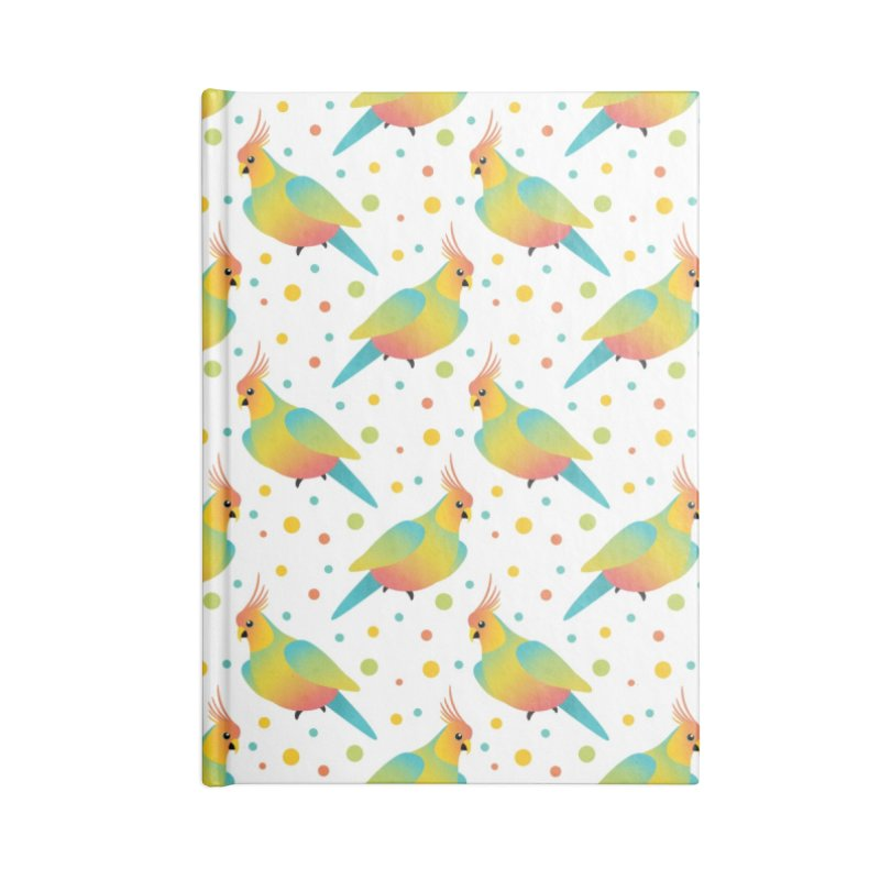 Parrot Accessories Notebook by theladyernestember's Artist Shop