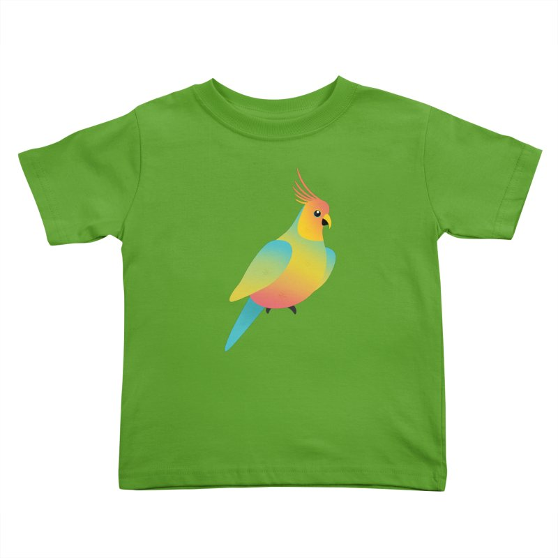 Parrot Kids Toddler T-Shirt by theladyernestember's Artist Shop
