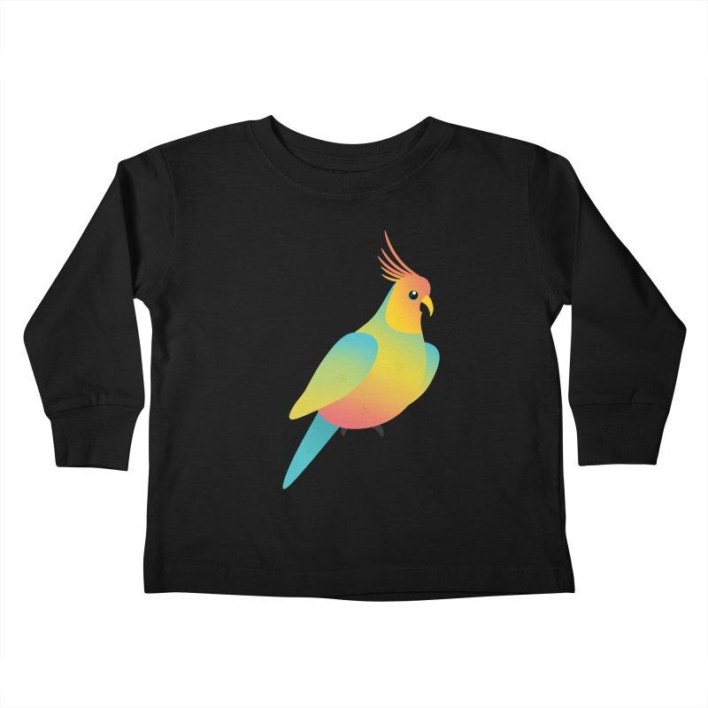 Parrot Kids Toddler Longsleeve T-Shirt by theladyernestember's Artist Shop