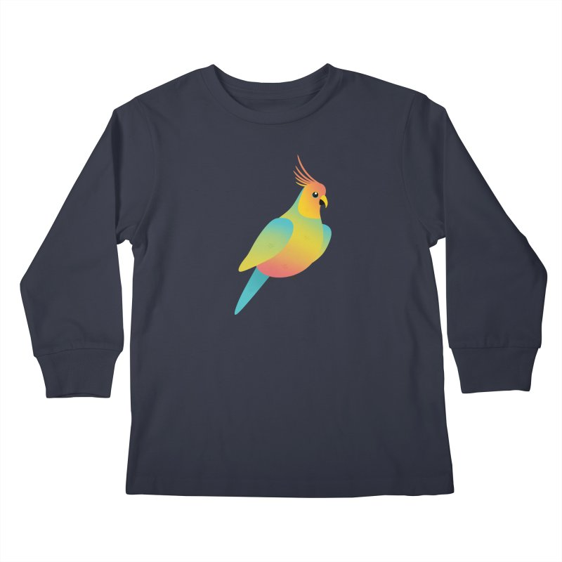 Parrot Kids Longsleeve T-Shirt by theladyernestember's Artist Shop