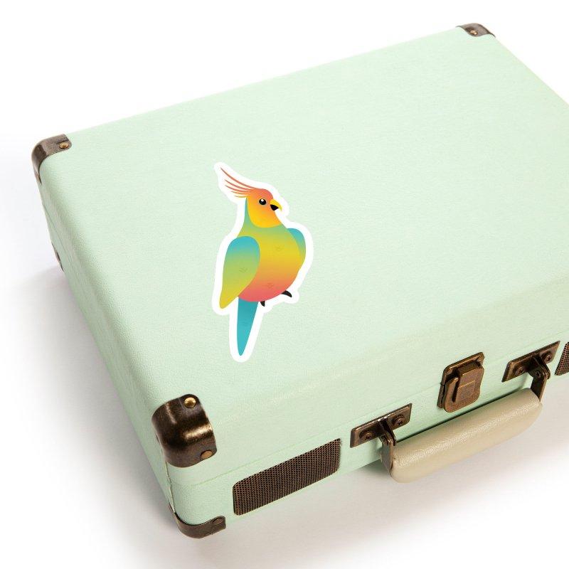 Parrot Accessories Sticker by theladyernestember's Artist Shop