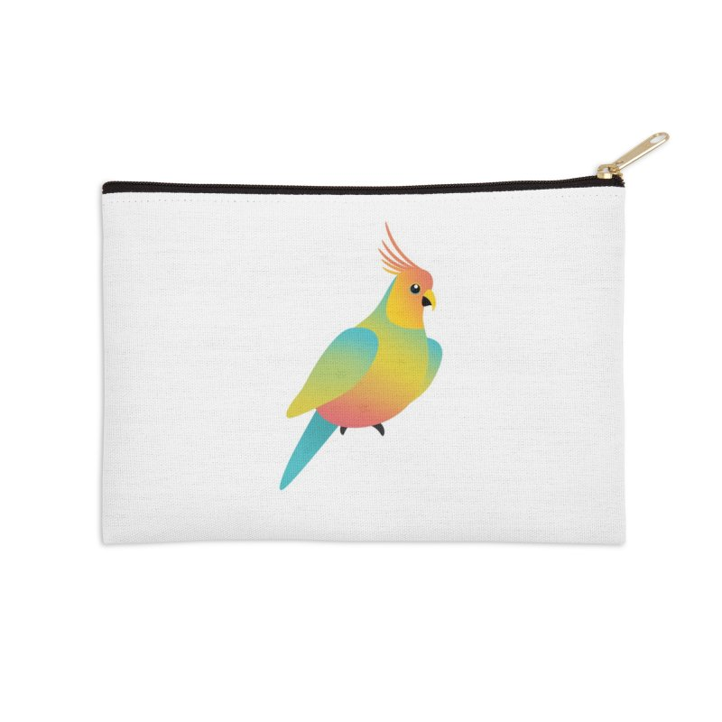 Parrot Accessories Zip Pouch by theladyernestember's Artist Shop
