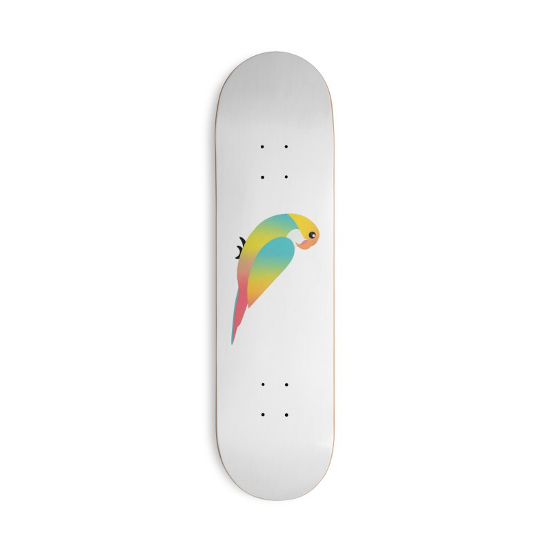 Parrot Accessories Skateboard by theladyernestember's Artist Shop