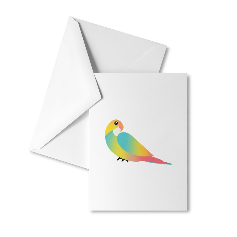 Parrot Accessories Greeting Card by theladyernestember's Artist Shop