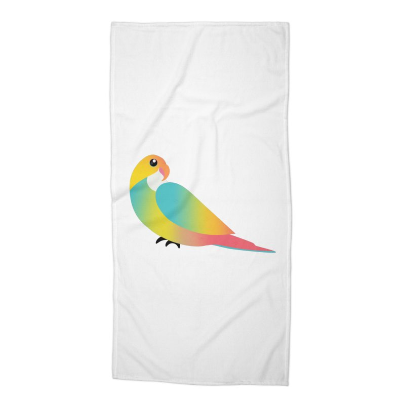 Parrot Accessories Beach Towel by theladyernestember's Artist Shop