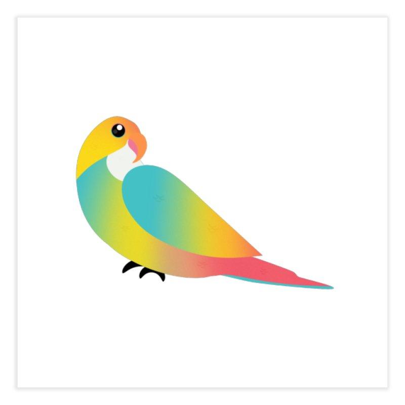 Parrot Home Fine Art Print by theladyernestember's Artist Shop