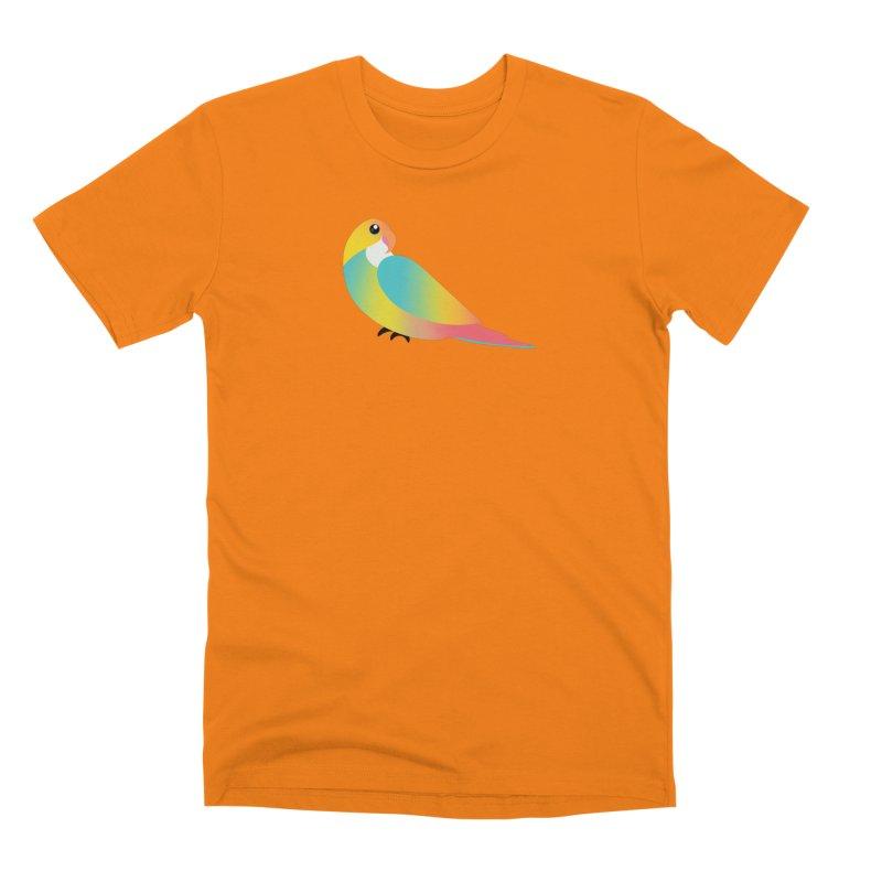 Parrot Men's T-Shirt by theladyernestember's Artist Shop