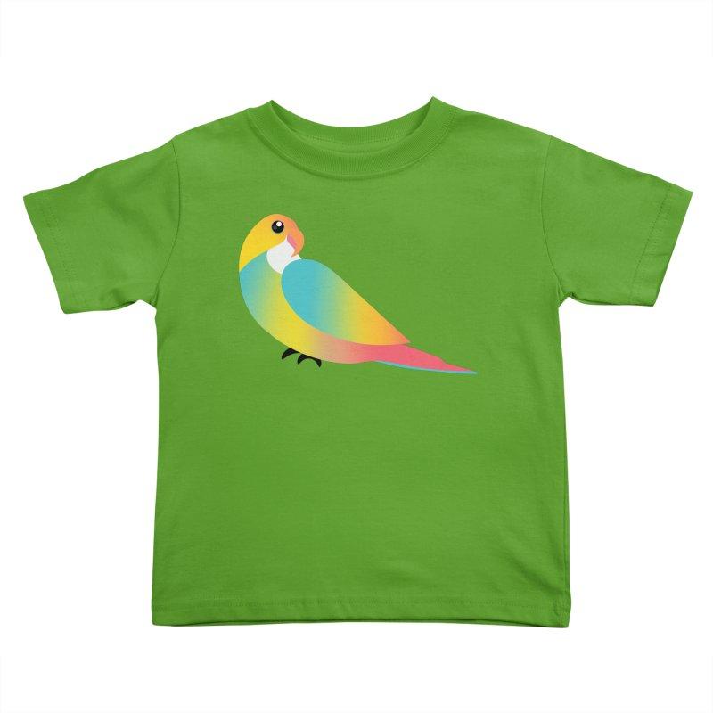Parrot Kids Toddler T-Shirt by theladyernestember's Artist Shop