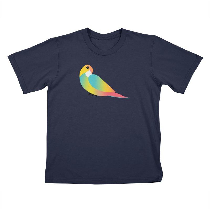 Parrot Kids T-Shirt by theladyernestember's Artist Shop