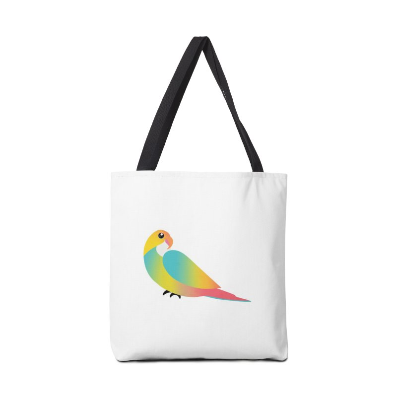 Parrot Accessories Bag by theladyernestember's Artist Shop