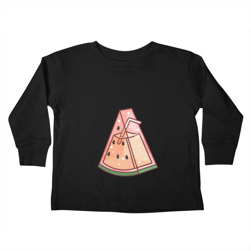 Watermelon Kids Toddler Longsleeve T-Shirt by theladyernestember's Artist Shop