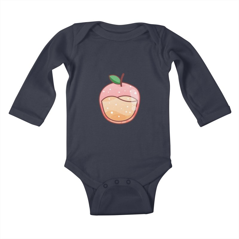 Apple Kids Baby Longsleeve Bodysuit by theladyernestember's Artist Shop