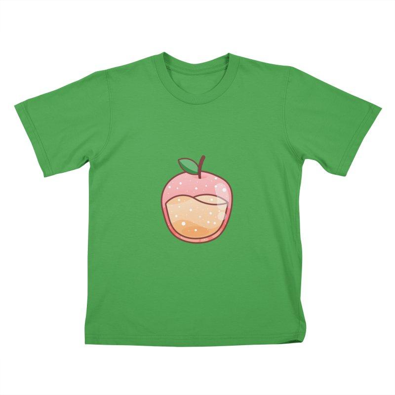 Apple Kids T-Shirt by theladyernestember's Artist Shop