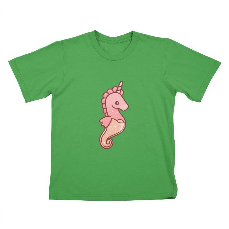 Seahorse Kids T-Shirt by theladyernestember's Artist Shop