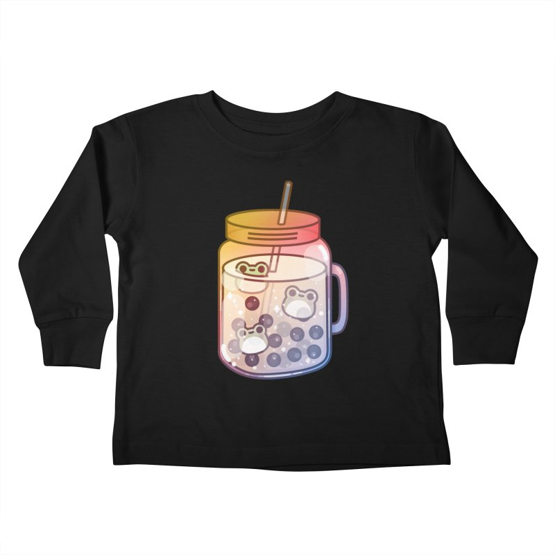Frog Kids Toddler Longsleeve T-Shirt by theladyernestember's Artist Shop