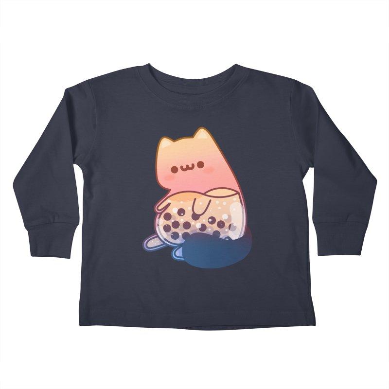 Cat Kids Toddler Longsleeve T-Shirt by theladyernestember's Artist Shop