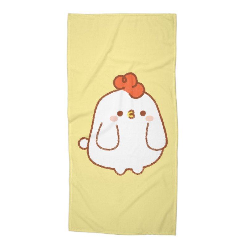 Chicken Accessories Beach Towel by theladyernestember's Artist Shop
