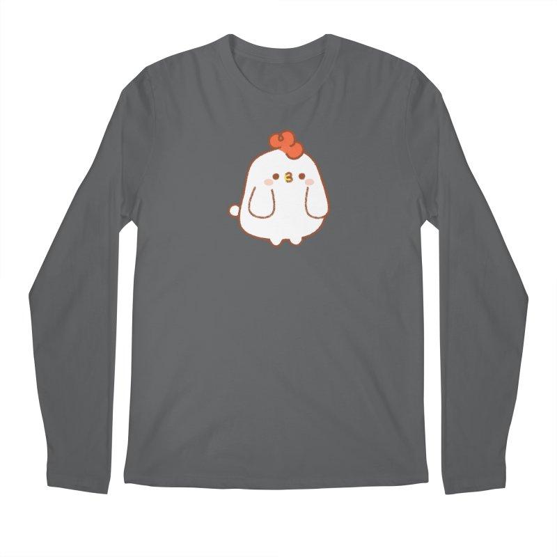 Chicken Men's Longsleeve T-Shirt by theladyernestember's Artist Shop