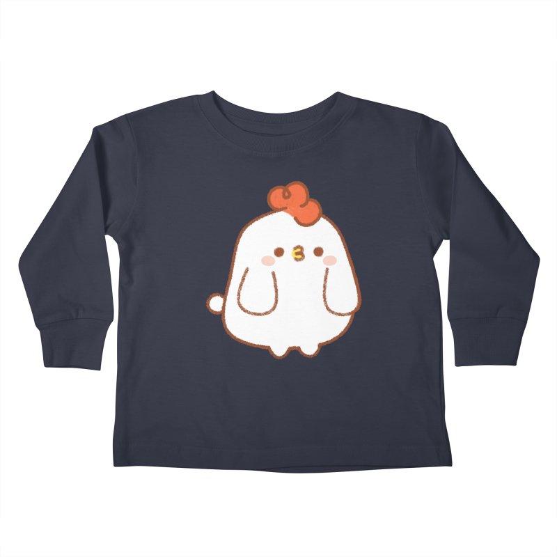 Chicken Kids Toddler Longsleeve T-Shirt by theladyernestember's Artist Shop