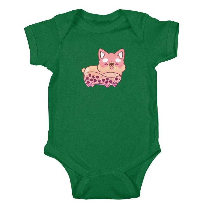 Puppy Kids Baby Bodysuit by theladyernestember's Artist Shop