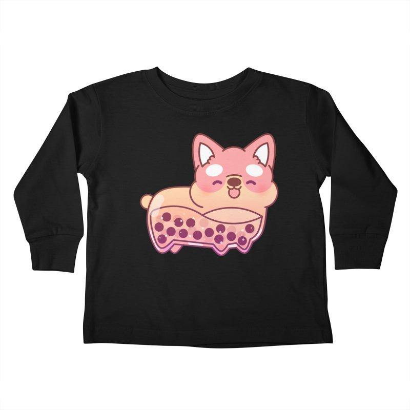 Puppy Kids Toddler Longsleeve T-Shirt by theladyernestember's Artist Shop