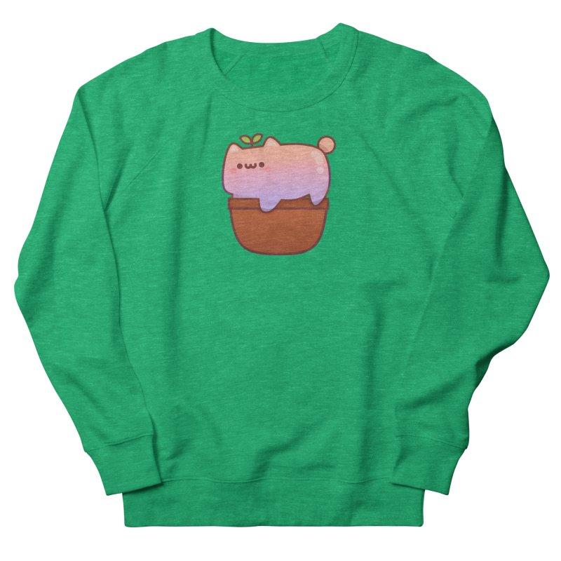 Cat Plant Women's Sweatshirt by theladyernestember's Artist Shop
