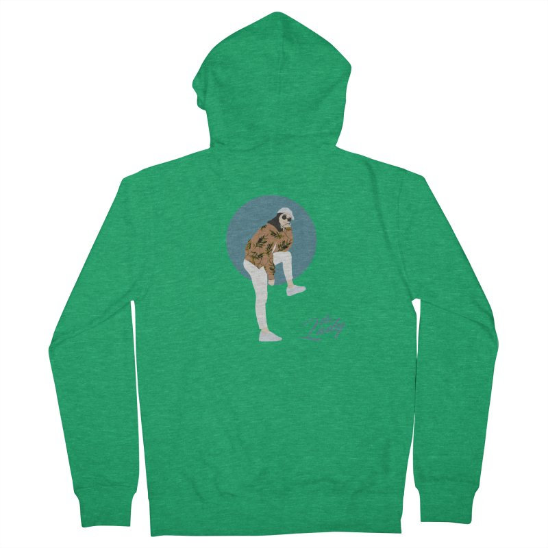 THE LADY - LEAF Men's Zip-Up Hoody by theladyernestember's Artist Shop